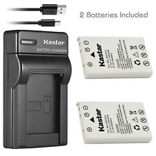 Kastar 2 Lithium-Ion Battery + Charger for Nikon EN-EL5 Coolpix 7900 P5000 P6000