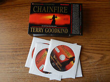 The Sword of Truth: Chainfire Audiobook (CDs, 2005) Unabridged