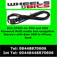 KCA-IP202 for iPod iPhone adaptor for Kenwood DNX7210BT , DNX7280BT , DNX9210BT