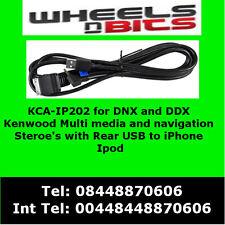 KCA-IP202 for iPod iPhone adaptor for Kenwood DNX7210BT , DNX7280BT , DNX9210BT