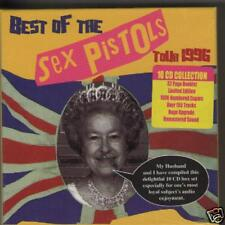 SEX PISTOLS - 10 CD LIMITED NUMBERED 1996 BOX SET (NEW SEALED BOXSET)