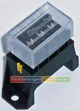 KFZ 4-fach Sicherungshalter, Sicherungsdose, 6 / 12 / 24 Volt, KFZ/ Yacht/ Boot