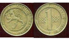 FINLANDE 1 markka 1993