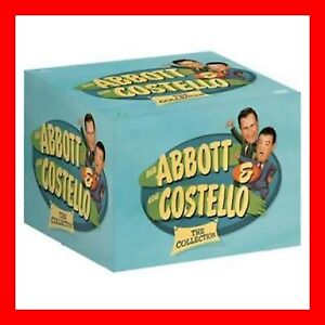 Abbott and Costello: The Complete Movie Collection DVD Box Set - New - 13 Disc