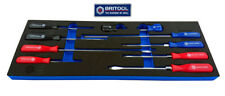 SCREWDRIVER SET 10 PIECES FROM BRITOOL HALLMARK POZI, SLOTTED, PHILLIPS SDSET10