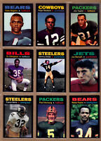 COMPLETE SET OF 36 MONARCH CORONA GLORY DAYS FOOTBALL CARDS