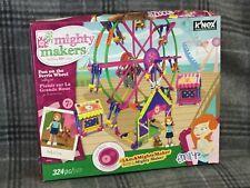 """MIGHTY MAKERS"" K'nex ""Fun on The Ferris Wheel"" 324 piece"