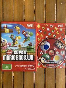 New Super Mario Bros (Complete w/ Manual) - Nintendo Wii