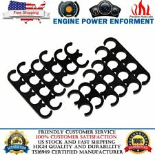 12Pcs 7mm 8mm Plastic Spark Plug Wire Separators Dividers Looms For Ford Chevy