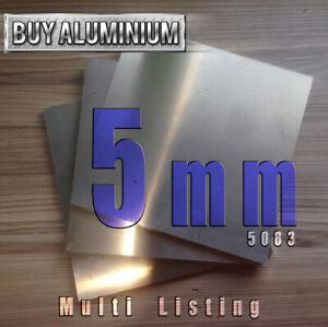 5mm Aluminium plate - 5083