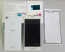 original Sony Z3 D6603 LCD komplettes Display weiß ,Backcover, 2x Dichtungen