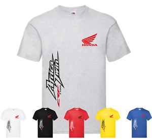 Tshirt uomo maglietta FAN stile moto HONDA AFRICA TWIN estate 2021 IDEA REGALO