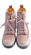 Zecchino d'Oro Samt Stiefel Gr. 32~Bio Leder~Glitzerpunkte~NP 149,90 €~BRANDNEW