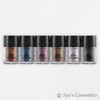 "3 NYX Metallic Glitter Loose Powder - MGLI ""Pick Your 3 Color"" *Joy's cosmetics*"