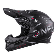 Oneal Fury Synthy Offroad Mountain Bike Downhill MTB Full Face Helmet