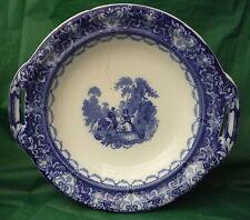 ROYAL DOULTON WATTEAU FLOW BLUE COMPORT C1890