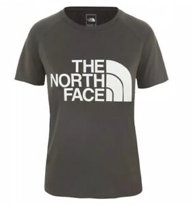 The North Face Women's Graphic Play Hard T-Shirt Uk L RRP £32