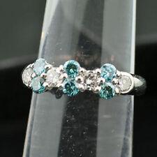 Reinheit VS Sehr gute Echte Diamanten-Ringe aus Platin mit Brilliantschliff