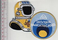 SCUBA Hard Hat Diving Germany Dräger Tauchtecnik 12 Bolts Helmet Lübeck, Germany