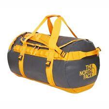 The North Face Base Camp Duffel Travel Bag L Asphalt Grey/orange