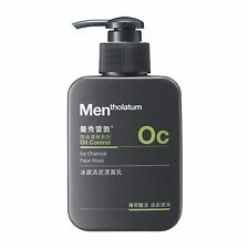 [MENTHOLATUM] MEN OC Oil Control Icy Charcoal Face Wash Facial Cleanser 150g NEW