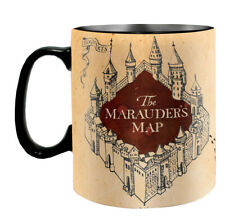 OFFICIAL HARRY POTTER MARAUDERS MAP LARGE HEAT CHANGING COFFEE MUG CUP
