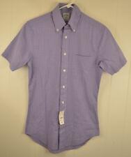 New Brooks Brothers 346 The Original Polo Shirt Slim Sit Extra Small XS Purple