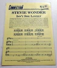 Partition sheet music STEVIE WONDER : Isn't She Lovely * 70's Keyboards