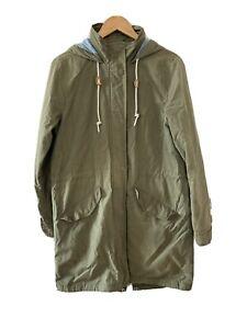 Levi Strauss Green Parker Coat Size Medium