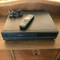 Samsung VR3711 VHS VCR Video Cassette Recorder Player  w/ remote