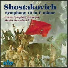 CD SHOSTAKOVICH SYMPHONY 10 in E MINOR LONDON SYMPHONY ORCHESTRA MAXIM