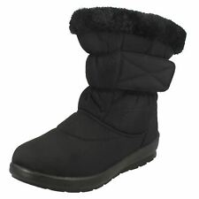 Ladies Spot On Fleece Lined Snowboots
