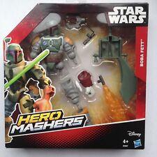 Star Wars Hero Mashers Boba Feet Hasbro Episode VI Fett New