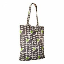 ORLA KIELY EARLY BIRD PRINT PACKAWAY HOLIDAY TWO STRAP TOTE BAG