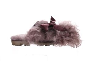 UGG Womens Purple Mule Slippers Size 7 (2077569)