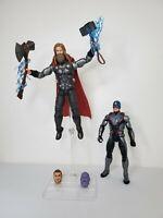 "Marvel Legends Avengers Endgame MCU Bro THOR 6"" Figure Quantum Suit Infinity War"