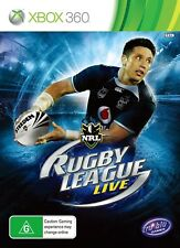 NRL Rugby League Live *NEW & SEALED* Xbox 360