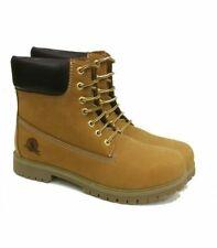Scarponcino CANGURO Boots UOMO Modello Timberland Giallo Ocra Vera Pelle Inverno
