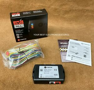 NEW Fortin EVO-ALL Universal Digital Remote Start & Bypass Module