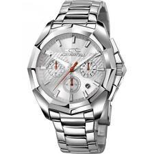 Orologio Uomo CHRONOTECH IDOL RW0101 Chrono Bracciale Acciaio Silver