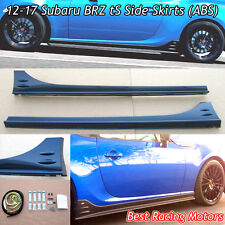 STi tS Style Side Skirts (ABS) Fits 12-18 Subaru BRZ