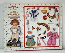 Mary Engelbreit Sophie Magnetic Dress Up Doll Set 1999 Doll Outfits Accessories