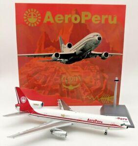 1:200 INF200 Aeroperu L1011 N10114 With Stand
