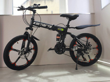 20 inch Carbon Steel kids Folding Mountain Bike 21 speed Double Disk Brake New