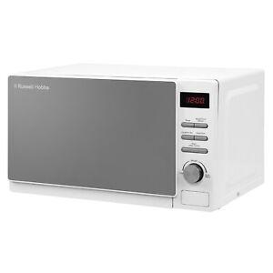 Russell Hobbs RHM2079A Aura 20L Digital Microwave Oven - White