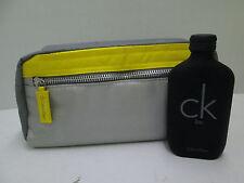 """"""" CK BE BY CALVIN KLEIN """" CONFEZIONE PROFUMO EDT 100ml SPRAY + POCHETTE"""