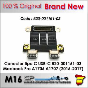 Connecteur Type C Usb-C 820-001161-03 00861-A Macbook A1706 A1707 (2016-2017)