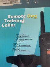Gentle Vibrating Dog Training Collar