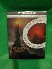 New ListingLord of the Rings Motion Picture Trilogy 4K Ultra Hd +Digital Fast Free Shipping