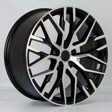 """4x White Label 213 20"""" x 9"""" 5x112 ET35 alloys fit Audi A4 A6 A8 VW Golf Passat"""